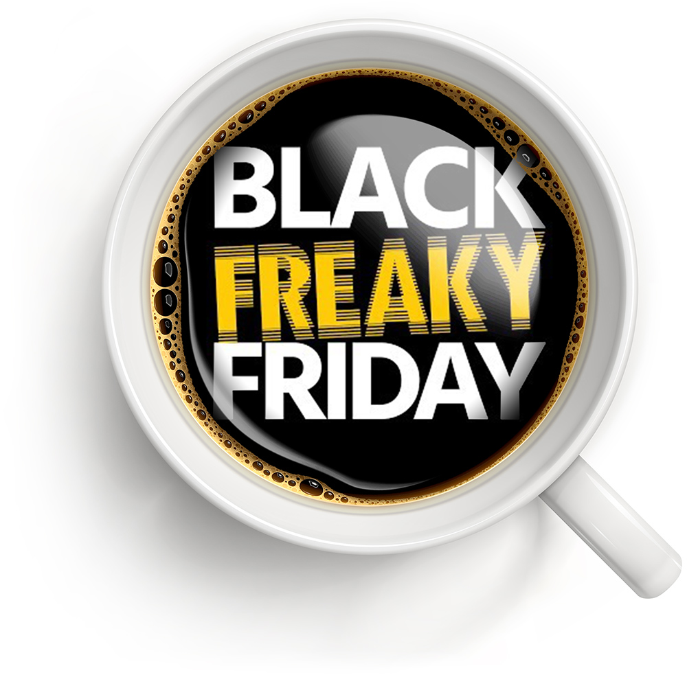 Gaveta e MRG na Black Freaky Friday