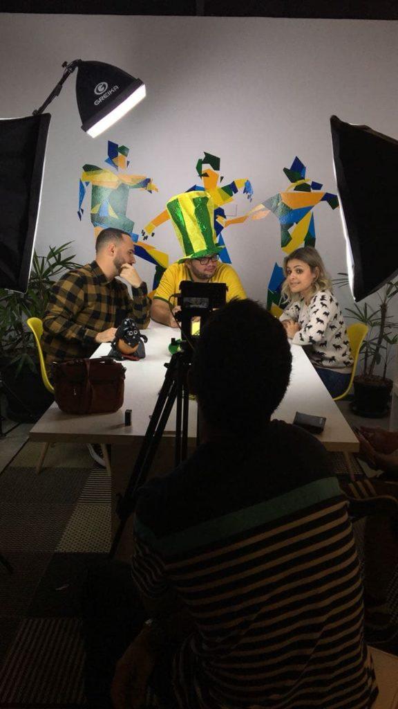 Desconcentrados. Ed Gama, Beto Estrada e Nivinha Richa