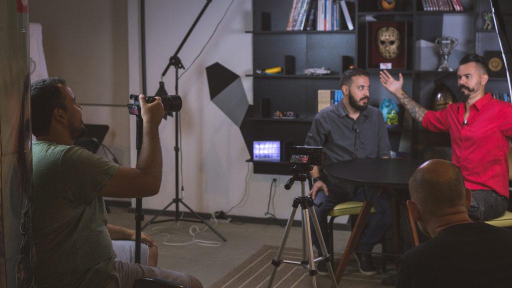 Agência EPK - Gravação com Affonso Solano e Afonso 3D