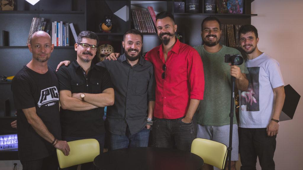 Agência EPK - Equipe O que foi que eu comi? com Affonso Solano e Afonso 3D