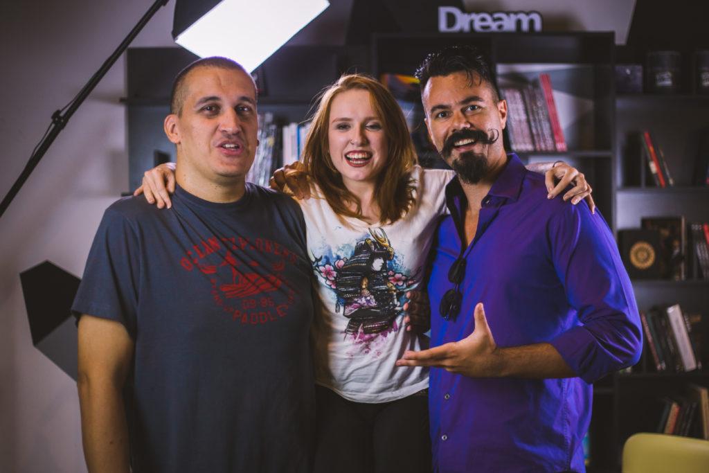 Agência EPK - Gravação com Affonso Solano, Natália Kreuser e Anderson Gaveta