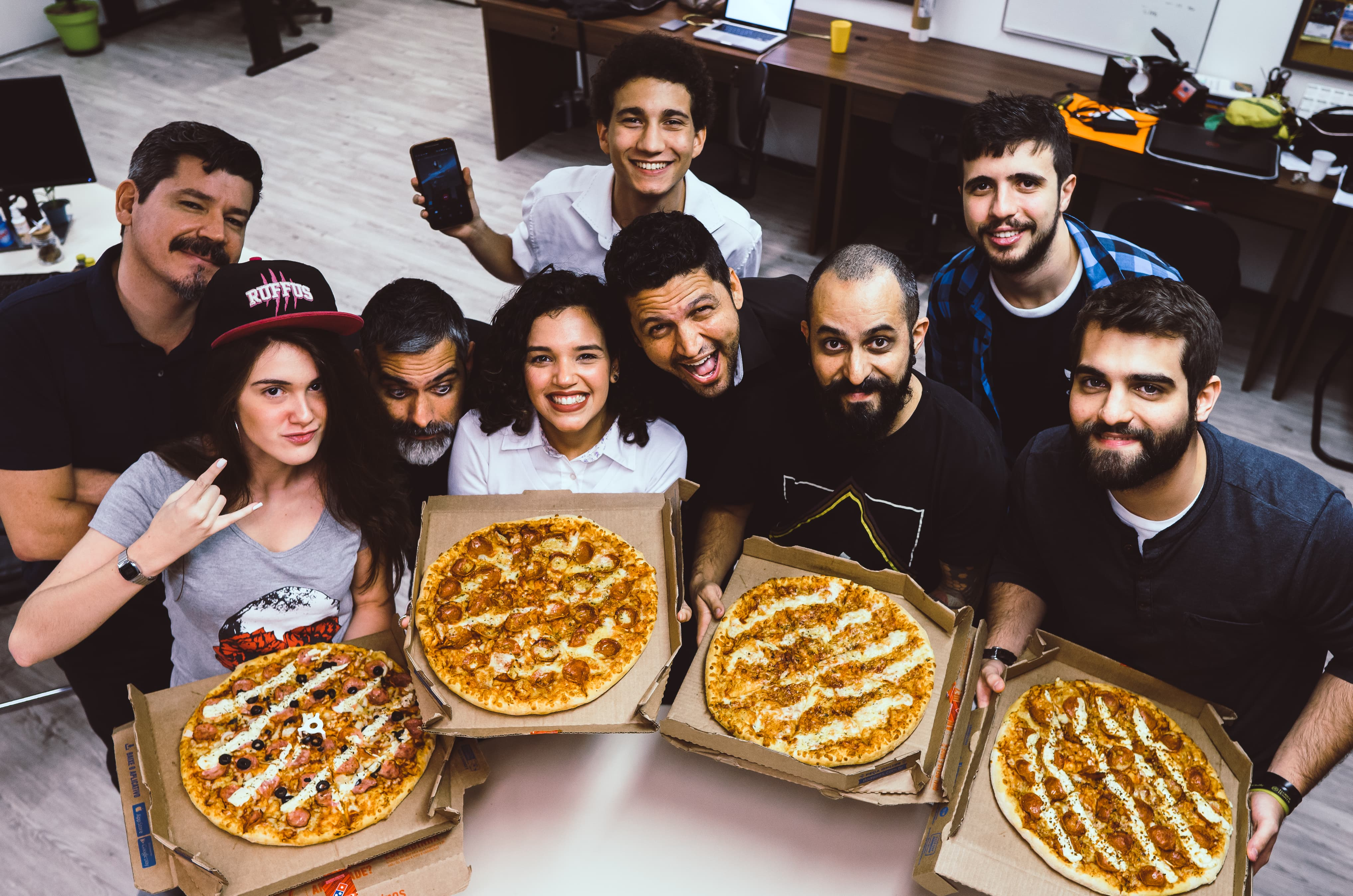 Dia da Pizza na Agência EPK